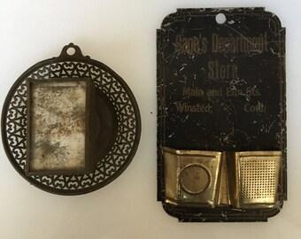 Bundle of Vintage Match Safes