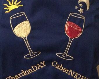 Wine Apron: ChardonDAY CaberNIGHT