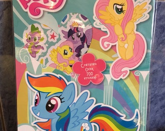 My little Pony Stickers - 9 sheets of over 700 stickers.