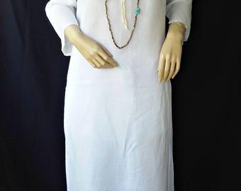 Zara Linen  (Ramie)Tunic Dress