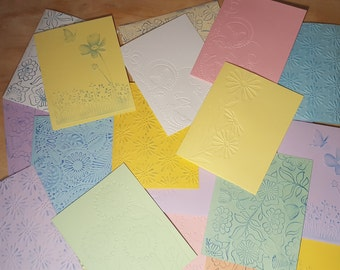10 Floral Notecards