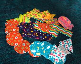 Kawaii  Flake Stickers - 80 Pieces