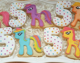 My Little Pony Cookies Party Favors