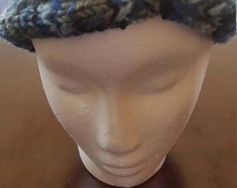 Blue Camo Headband