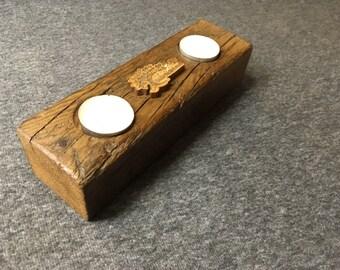 2 candle Tea light