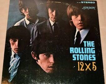 The Rolling Stones: 12 X 5 // Vintage LP