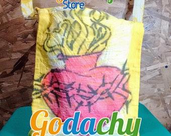 Bag blanket sacred heart