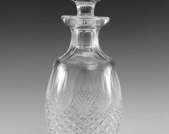 """WATERFORD Crystal - COLLEEN Cut - Spirit Decanter - 10 1/2"""""""