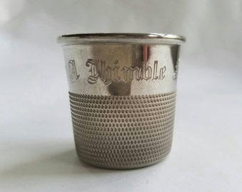 Just A Thimble 1955 Shot Glass