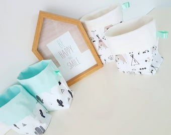 Bags / baskets / soft baby room decoration