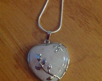 Rose of my Heart Necklace