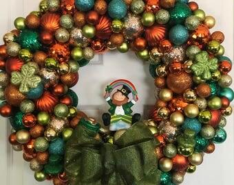 St. Patrick's Day, St. Patty's Day, St. Patrick's Day Wreath