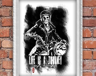 Life is a journey - art print