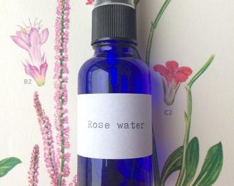 Organic Rose Water Spray - Hydrosol