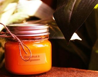 Grapefruit & Mangosteen 8oz Candle