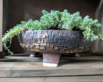 Ceramic planter, succulent planter, bonsai pot