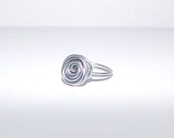 Spiral Wire Wrap Ring