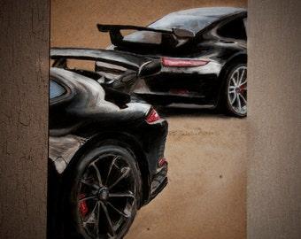 Porsche 911 GT3rs acrylic paint