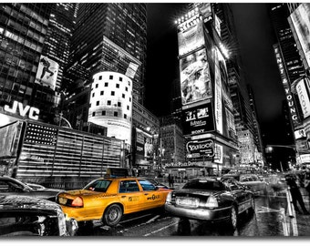 Canvas art painting New York Taxi