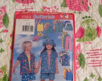 Butterick 5564 Sizes 6-8