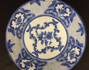 Vintage set of 4 Tiffany plates
