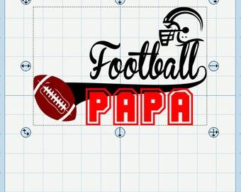 Football Papa and Nana SVG (2Files)