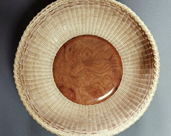 Nantucket Twill Band Madrone Basket