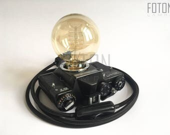 Handmade camera lamp Zenit-ET