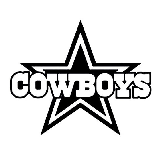 Vinyl Decal Sticker - Dallas Cowboys Decal for Windows, Cars, Laptops, Macbook, Yeti, Coolers, Mugs etc
