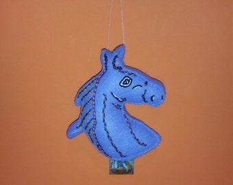 Horse Portrait  Art Doll