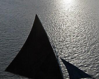 Silhouette Series- #4:  Sao Luis Harbor, Northeast Brazil