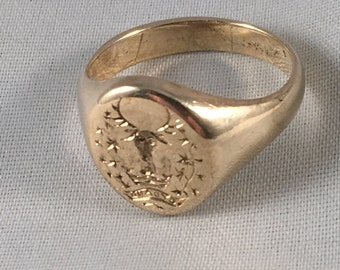 Unique, bespoke and hand-engraved signet rings