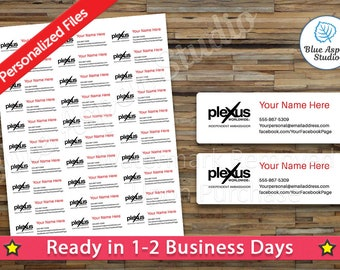 Perfectly Posh Address Labels Printable Personalized Stickers