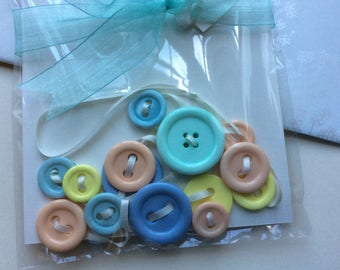 Bye Baby Button Bunting