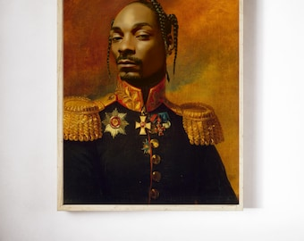 Snoop Dogg Limited Art Print