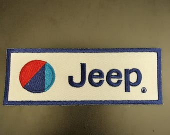 Jeep 4x4 Iron on Sew on patch