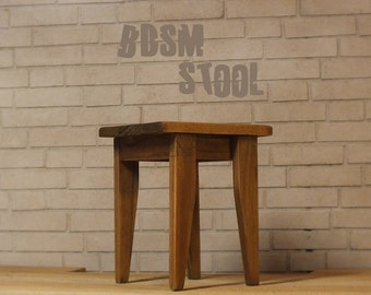 Doll BDSM furniture | Doll BDSM | Doll Dungeon furniture | Barbie BDSM | Dollhouse miniature | Mature | Barbie furniture | Doll stool