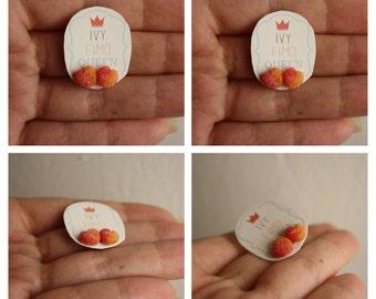 Sugar Peach Earrings