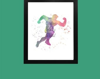 The Flash Water Color Digital Download