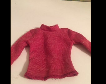 Barbie Ken Maroon Color Shirt