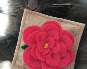Bam! Flower Bomb Catnip Pillow