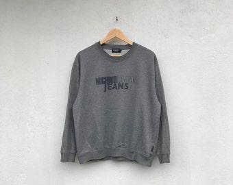MICHIKO LONDON JEANS vintage spellout sweatshirt