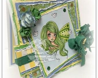 Green Fairy Card
