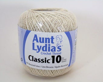 Antique White - Aunt Lydia's Crochet Cotton Classic Size 10
