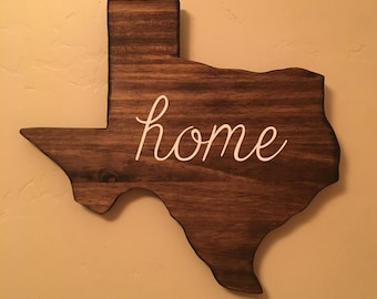 Texas Home Wall Decor