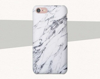 Marble iPhone 7 Case, Black and White Marble iPhone 6S Case, iPhone SE Case Marble, iPhone 7 Plus Case Marble, iPhone 6 Plus Case Marble, 6S
