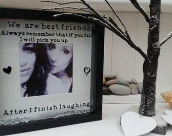 Best Friends personalised frame