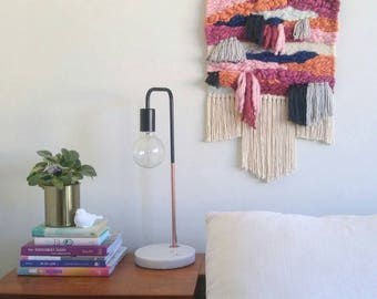 Woven Wall Hanging - Tapestry Wall Hanging - Weaving - Fiber Art - Textile Art - Home Decor - Handwoven - Boho Wall Hanging - OSTARA