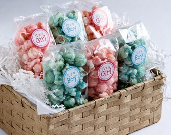 Baby Shower Popcorn Bags (Set of 20)