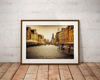 Golden Wroclaw, Pioland - Physical fine art photography print